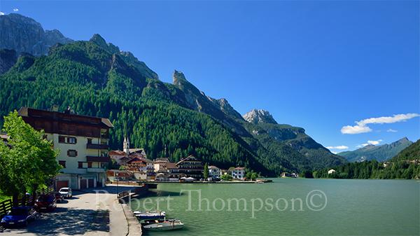 Lago di Alleghe Dolomites
