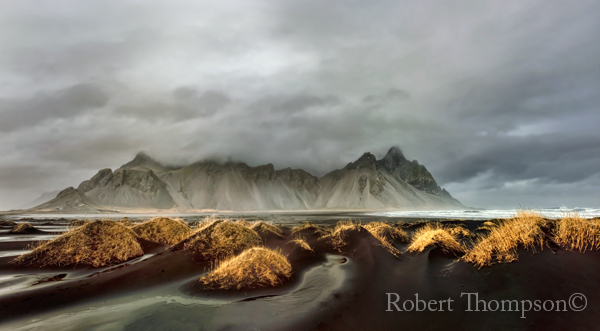 Vestahorn Stokksness Iceland