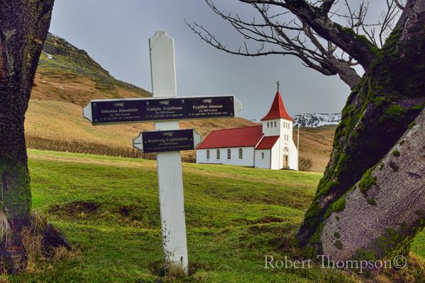 Asolfsskalakirkja Church Ásólfsskáli Iceland