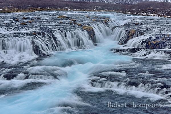 Bruarfoss Waterfall Brekkuskogue Iceland
