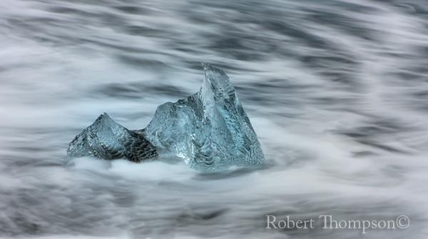 Iceberg Jökulsárlón Glacier Lagoon Iceland