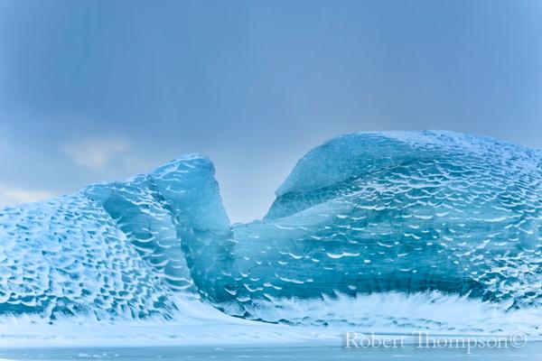 Iceberg Vestrahorn Stokksness Iceland