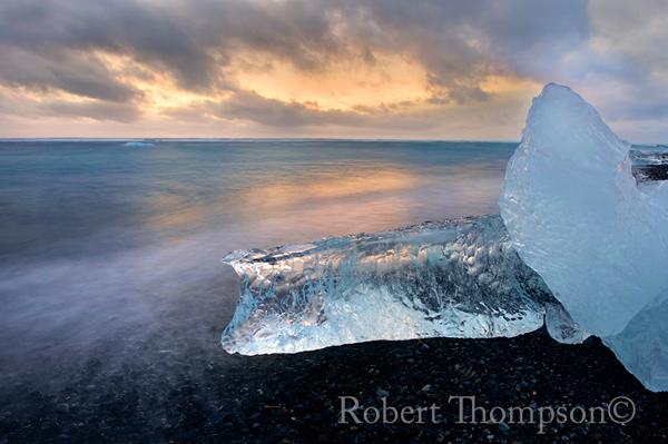 Icebergs Jökulsárlón Glacier Lagoon Iceland